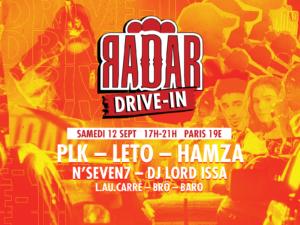 RADAR - Concert Drive-in à Paris le 12.09